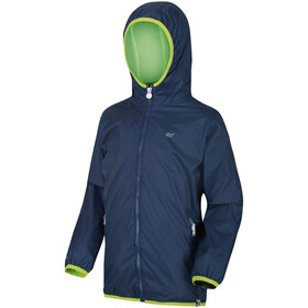 Regatta Lever II Chaqueta Impermeable Niños, dark denim